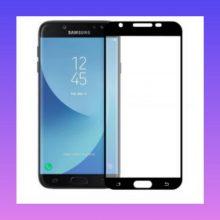 محافظ صفحه نمایش فول مناسب برای گوشی موبایل سامسونگ مدل j7pro