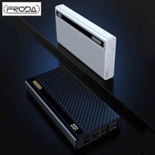 شارژر همراه پرودا مدل PD-P26ظرفیت 20000میلی امپر ساعت