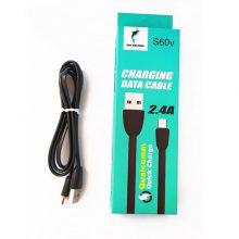 کابل تبدیل USB به microUSB اسکای دلفین مدل S60V طول 1 متر