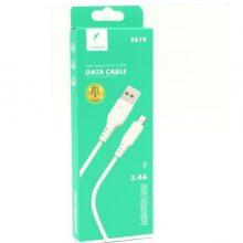 کابل تبدیل USB به microUSB اسکای دلفین مدل S61V طول 1 متر